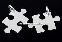 Pandantiv puzzle argint 925, 19mm  - x1