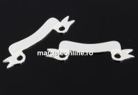 Link mesaj pentru gravat argint 925, 21mm  - x1
