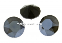 Swarovski, chaton ss29, dark grey, 6mm - x4