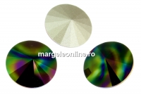 Swarovski, rivoli,  rainbow dark, 10mm - x2
