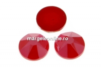 Swarovski rhinestone ss12, royal red, 3mm - x20