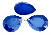 Swarovski, fancy picatura, royal blue, 14x10mm - x1