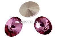 Swarovski, fancy oval, antique pink, 14x10.5mm - x2