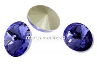Swarovski, fancy oval, tanzanite, 14x10.5mm - x2