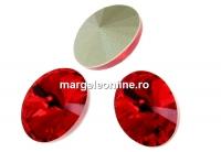 Swarovski, fancy oval, light siam, 14x10.5mm - x2