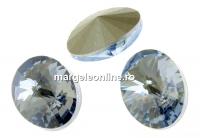 Swarovski, fancy oval, blue shade, 14x10.5mm - x2