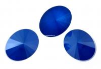 Swarovski, fancy oval, royal blue, 14x10.5mm - x2