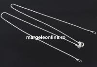 Lant zar pentru linkuri argint 925, 41cm - x1