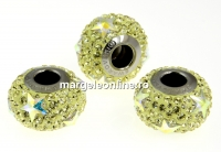 Swarovski, becharmed pave jonquil, 14.5mm - x1