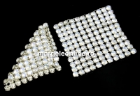Swarovski Crystal mesh, moonlight, 3.2x3.2cm - x1