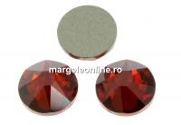 Swarovski, cabochon SS30, red magma, 6mm - x4