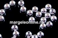 Margele decor , argint 925, 3mm,  int.0.8mm - x20