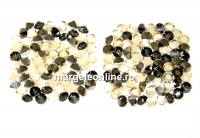 Swarovski, pand. fine rocks, golden shadow mettalic gold, 22mm - x1