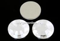 Swarovski, cabochon Concise, crystal, 11mm - x2