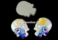 Swarovski, cabochon HF Craniu, aurore boreale, 18mm - x1