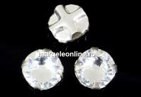Swarovski, roses montees crystal, 4mm - x20