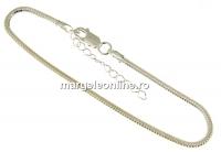 Bratara pentru Swarovski Becharmed, argint 925, 18+4cm - x1