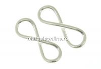 Link infinit argint 925, 12.5mm  - x2