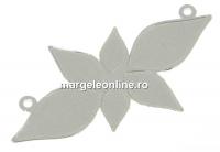 Baza link argint 925, pentru Swarovski 2205, 35mm - x1