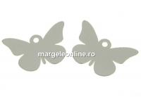 Pandantiv fluture argint 925, 14mm  - x1