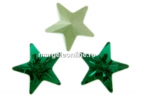 Swarovski, fancy star, emerald, 10mm - x1