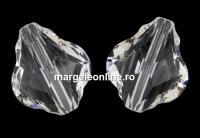 Swarovski, margele baroque, crystal, 10mm - x1