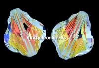 Swarovski, margele baroque, aurore boreale, 10mm - x1
