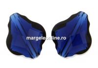 Swarovski, margele baroque, dark indigo, 14mm - x1