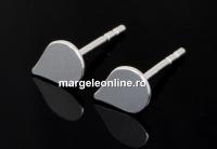 Tortite cercei picatura, argint 925, 11.5mm - x1per