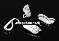 Sistem extensie pandantive, argint 925, 8.5x4mm - x2