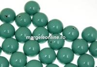 Perle Swarovski cu un orificiu, jade, 12mm - x2