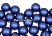 Perle Swarovski cu un orificiu, iridescent dark blue, 10mm - x2
