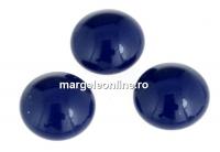 Swarovski, cabochon perla cristal, dark lapis, 10mm - x2