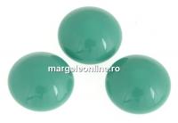 Swarovski, cabochon perla cristal, jade, 10mm - x2