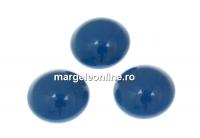 Swarovski, cabochon perla cristal, lapis, 10mm - x2