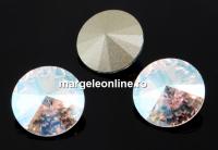 Swarovski, rivoli, crystal shimmer, 12mm - x2