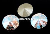 Swarovski, rivoli, silk shimmer, 12mm - x2