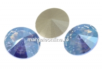 Swarovski, rivoli, light sapphire shimmer, 12mm - x2