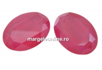 Swarovski, rivoli cabochon peony pink, 30mm - x1
