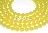 Perle Swarovski, pastel yellow, 4mm - x100