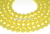 Perle Swarovski, pastel yellow, 5mm - x100