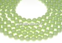 Perle Swarovski, pastel green, 8mm - x50