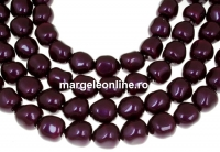 Margele Swarovski perle candy, blackberry, 8mm - x4