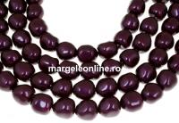 Margele Swarovski perle candy, blackberry, 8mm - x4