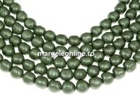 Margele Swarovski perle candy, powder green, 6mm - x4