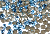 Swarovski, chaton pp21, aquamarine, 2.8mm - x20