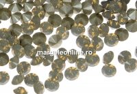 Swarovski, chaton pp21, light grey opal, 2.8mm - x20