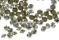 Swarovski, chaton pp21, silver shade, 2.8mm - x20