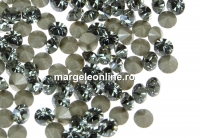 Swarovski, chaton pp21, black diamond, 2.8mm - x20