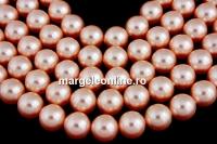 Perle Swarovski, rose peach, 4mm - x100